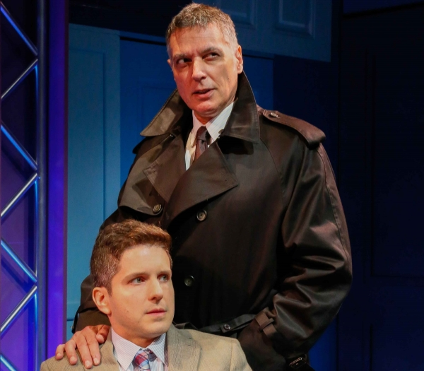 Howie Michael Smith Robert Cuccioli in Adam Overett's My Life Is a Musical at Bay Street Theatre.
