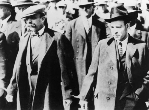 The execution of Nicola Sacco and Bartolomeo Vanzetti is the subject of Joseph Silovsky's Send for the Million Men, joining HERE's 2014-15 season.