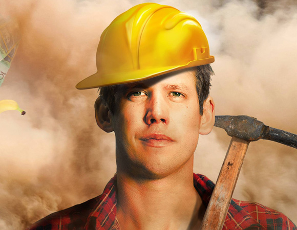 Xavier Toby unpacks his experience working in an Australian mine in his stand-up show Mining My Own Business, at FringeNYC.