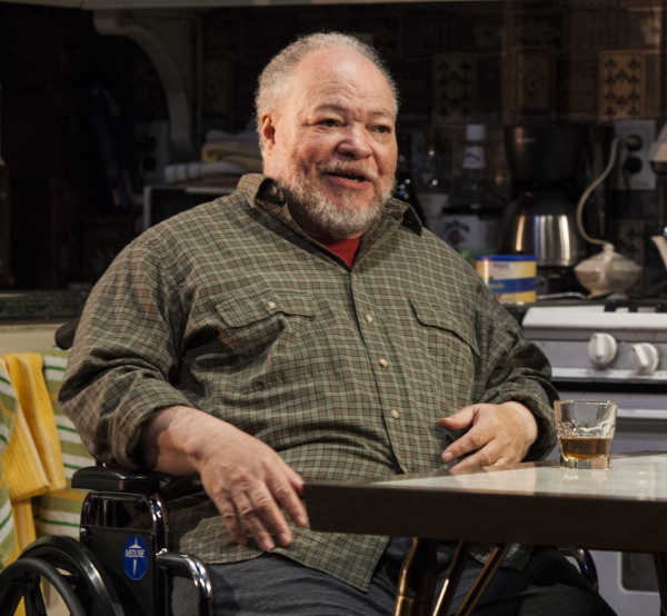 "Stephen McKinley Henderson plays Walter ""Pops"" Washington in Stephen Adly Guirgis' Between Riverside and Crazy, directed by Austin Pendleton, at the Linda Gross Theater."