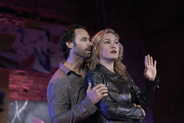 James Wirt and Julia Stiles star in Phoenix at Cherry Lane Theatre.