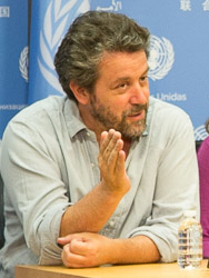 Dominic Dromgoole, director of the Globe's touring Hamlet production.