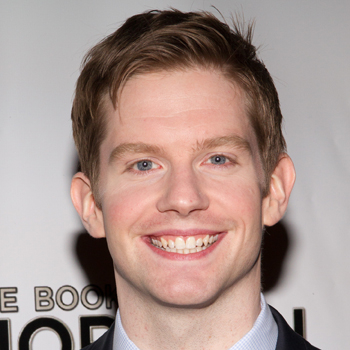Rory O'Malley on opening night Broadway's The Book of Mormon.
