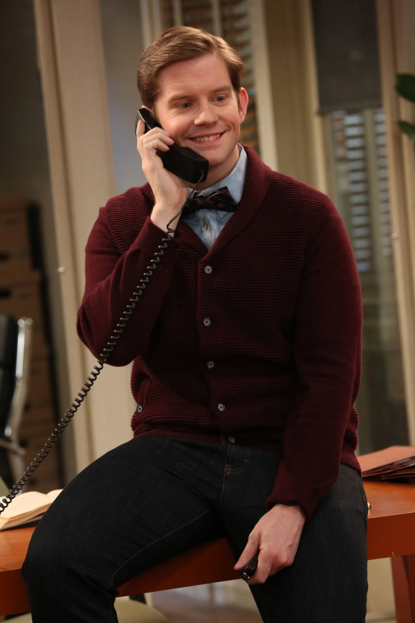 Rory O'Malley as Michael in the FX series Partners.