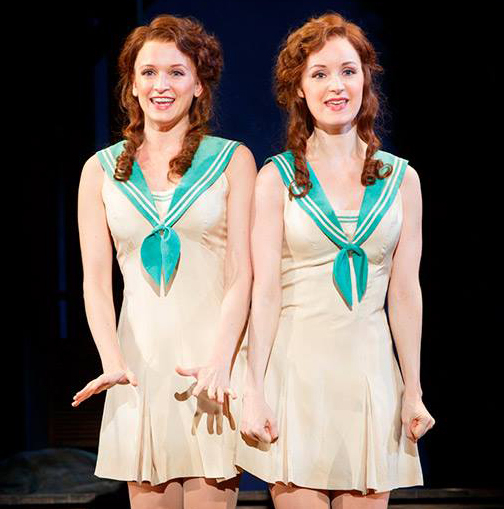 Emily Padgett and Erin Davis star in Side Show at Washington D.C.'s Kennedy Center.