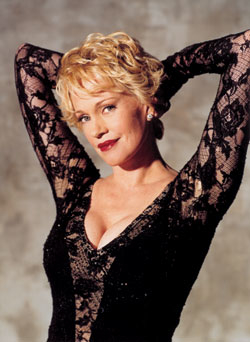 Melanie Griffith as Roxie Hart during her 2003 Broadway turn in Chicago.