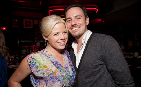 Megan Hilty and husband Brian Gallagher, who will be performing together at Broadway @ The Art House.