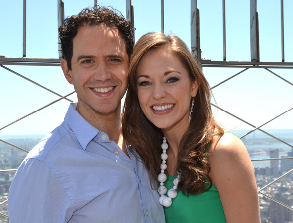 Cinderella veterans Santino Fontana and Laura Osnes will star in Transport Group Theatre Company's concert presentation of The Music Man.