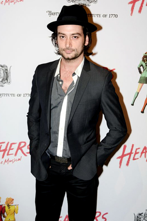 Constantine Maroulis returns to the role of Drew, which he originated in Broadway's Rock of Ages.