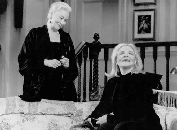 Rosemary Harris and Lauren Bacall in Waiting in the Wings.