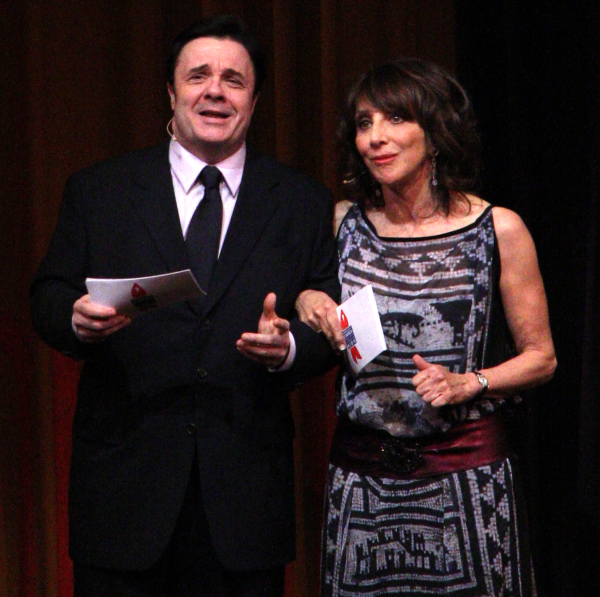 Nathan Lane will join Andrea Martin on September 14 for a discussion about her new book, Andrea Martin's Lady Parts.