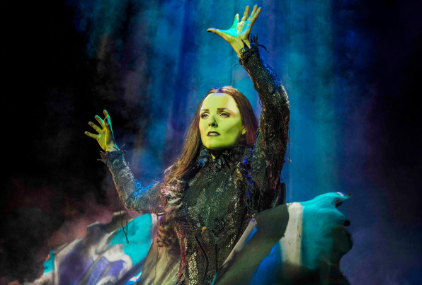 A first look at Kerry Ellis as Wicked's Elphaba.
