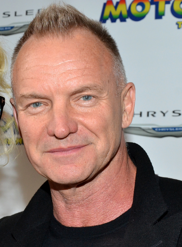 Sting will perform at Broadway's Gershwin Theatre on September 15 for Uprising of Love: A Benefit Concert for Global Equality.
