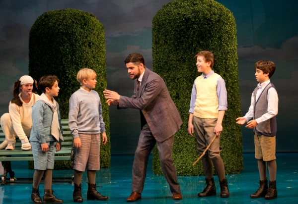 Jeremy Jordan leads the A.R.T. cast of the record-breaking Finding Neverland as Peter Pan creator J.M. Barrie.