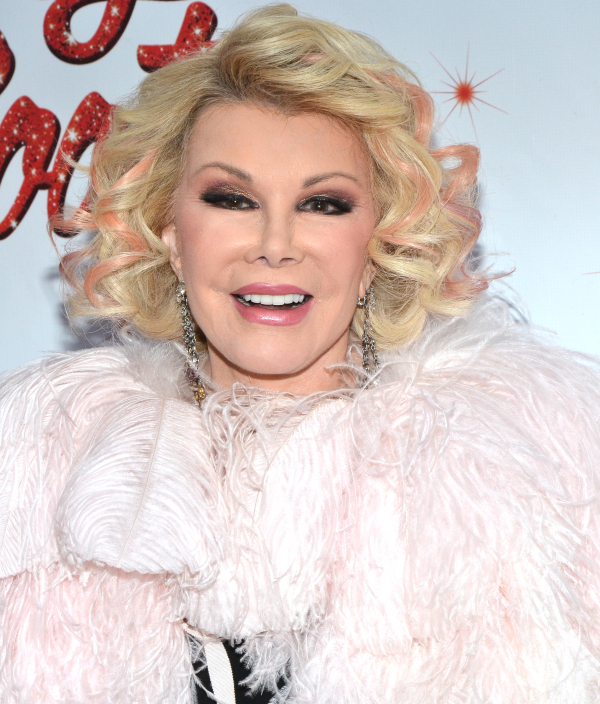 Comedian and Tony nominee Joan Rivers has died at the age of xx.