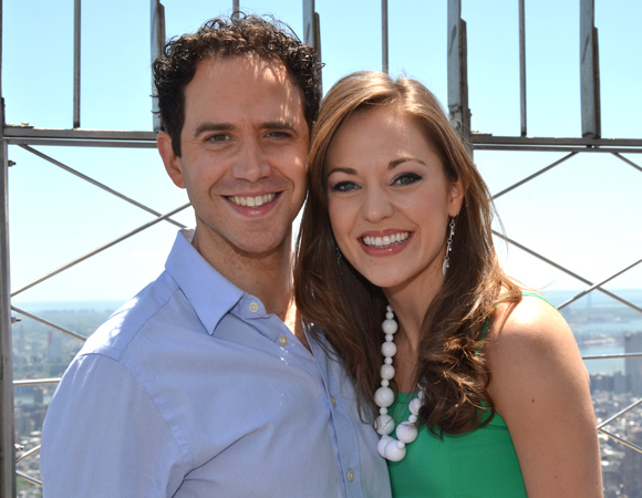Original Cinderella stars Santino Fontana and Laura Osnes will perform at Bucks County Playhouse's benefit concert, Getting to Know You: An Enchanted Evening of Oscar Hammerstein II, on September 27.