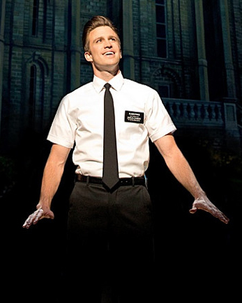 Gavin Creel in The Book of Mormon on London's West End.