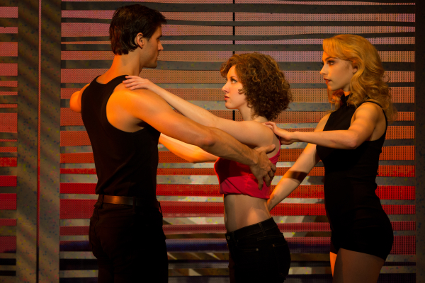 Samuel Pergande (Johnny), Jillian Mueller (Baby) and Jenny Winton (Penny) star in the North American tour of Dirty Dancing.