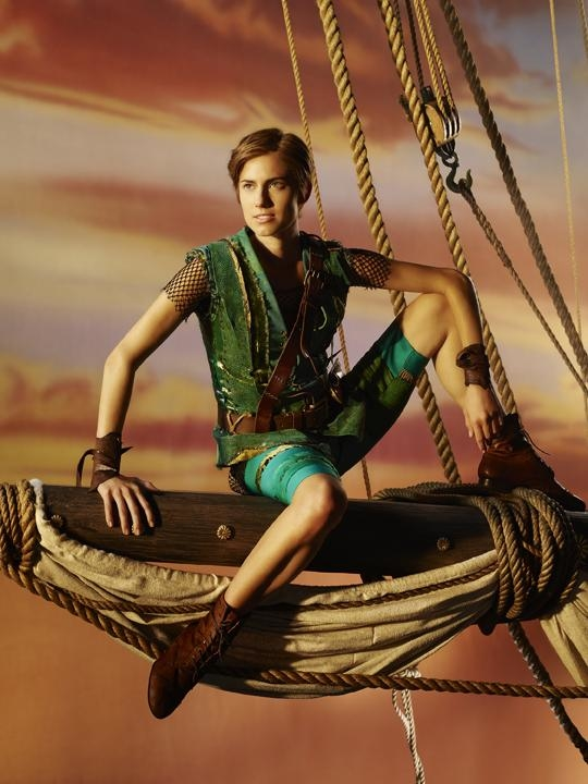 Allison Williams stars as Peter Pan in Peter Pan Live!, airing on NBC on December 4.