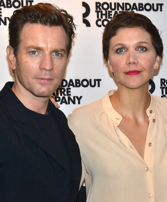 Ewan McGregor and Maggie Gyllenhaal star in Tom Stoppard's The Real Thing at the American Airlines Theatre.