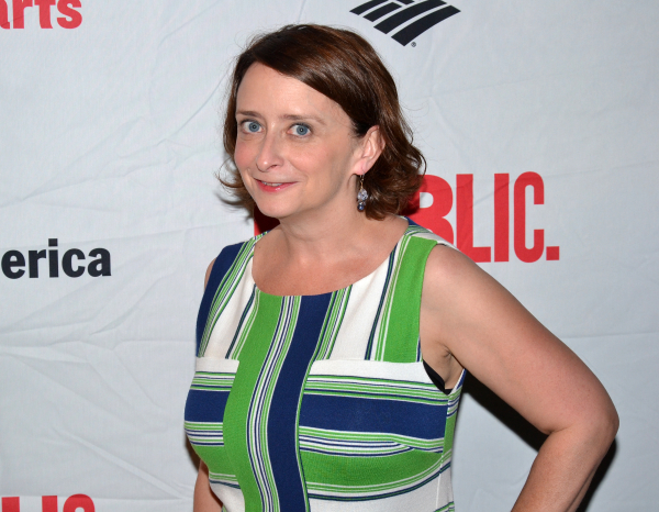 Rachel Dratch at the opening of the 2013 Shakespeare in the Park production of Love's Labour's Lost.
