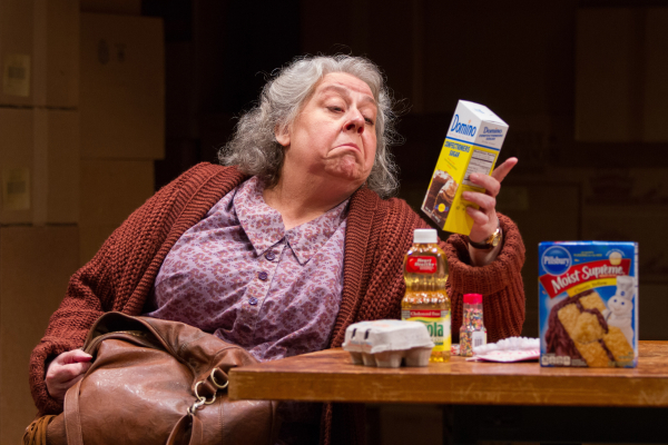Jayne Houdyshell as Alma in Morris Panych's The Shoplifters, making its world premiere at Washington D.C.'s Arena Stage.
