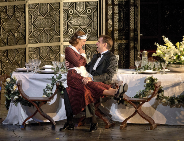 Marlis Petersen and Peter Mattei in Mozart's Le Nozze di Figaro, directed by Richard Eyre, at The Metropolitan Opera.