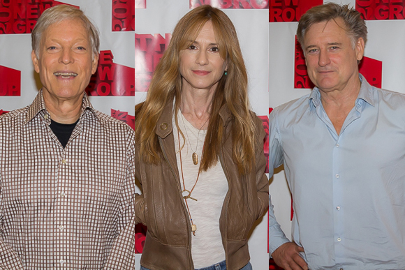 Richard Chamberlain, Holly Hunter, and Bill Pullman lead the starry cast of Sticks and Bones.