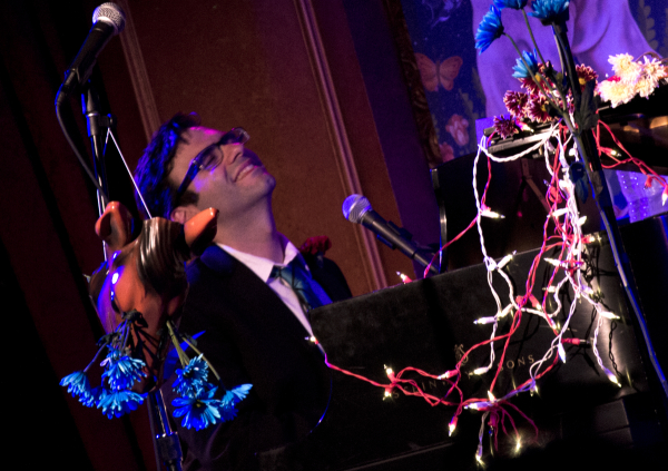 Joe Iconis will present his rock and roll musical Bloodsong of Love in concert at 54 Below.