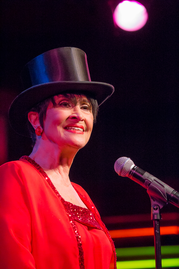 Chita Rivera opens her weeklong set at Birdland Jazz Club.