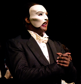 Norm Lewis has extended his starring turn in Broadway's The Phantom of the Opera.