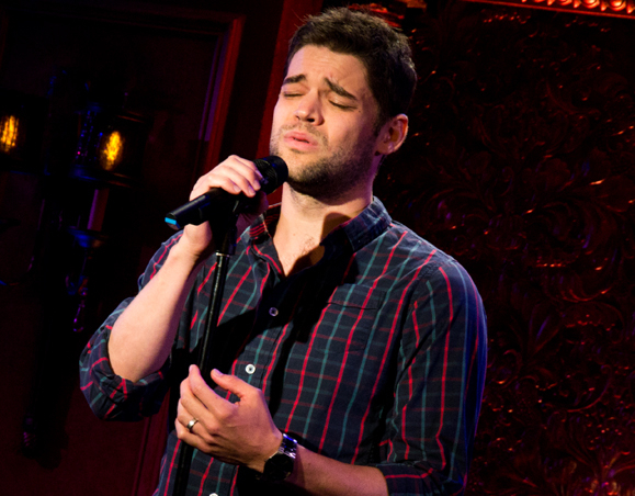 Jeremy Jordan will perform a two-week run of his concert Breaking Character at 54 Below.