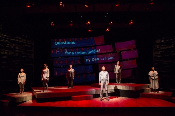 The cast of Our War, Anita Maynard-Losh, at Washington, D.C.'s Arena Stage.