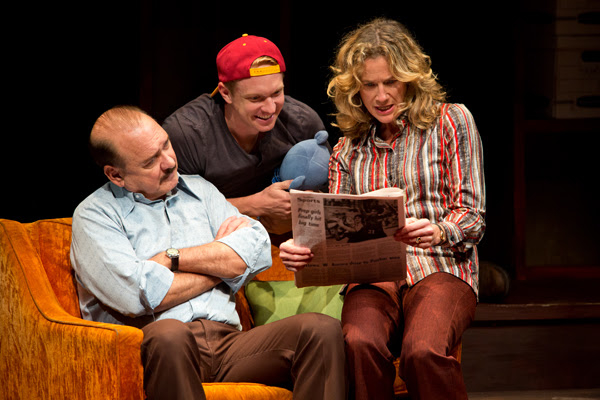 Murphy Guyer, Roderick Hill, and Kate Levy in Stalking the Bogeyman.