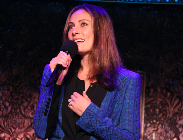 Laura Benanti returns to 54 Below for a concert on December 31, 2014.