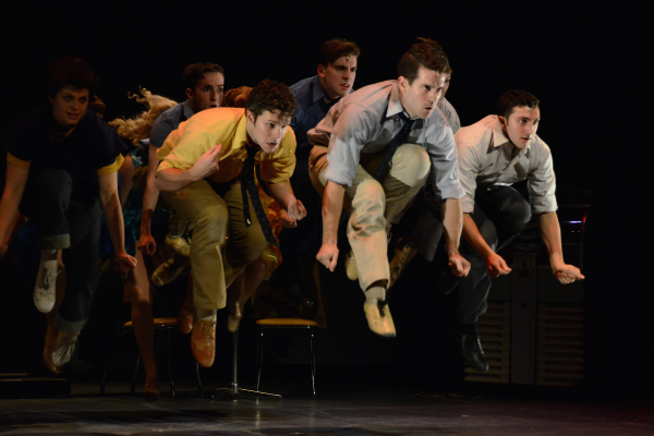 The company dances Cool in Harbor Lights' West Side Story.