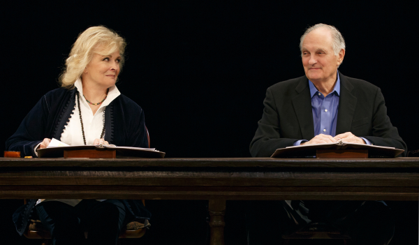 candice bergen and alan alda star in ar gurneys love letters