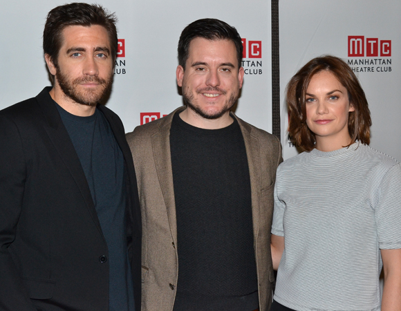 Jake Gyllenhaal and Ruth Wilson will be directed in the two-character drama by Michael Longhurst (center).