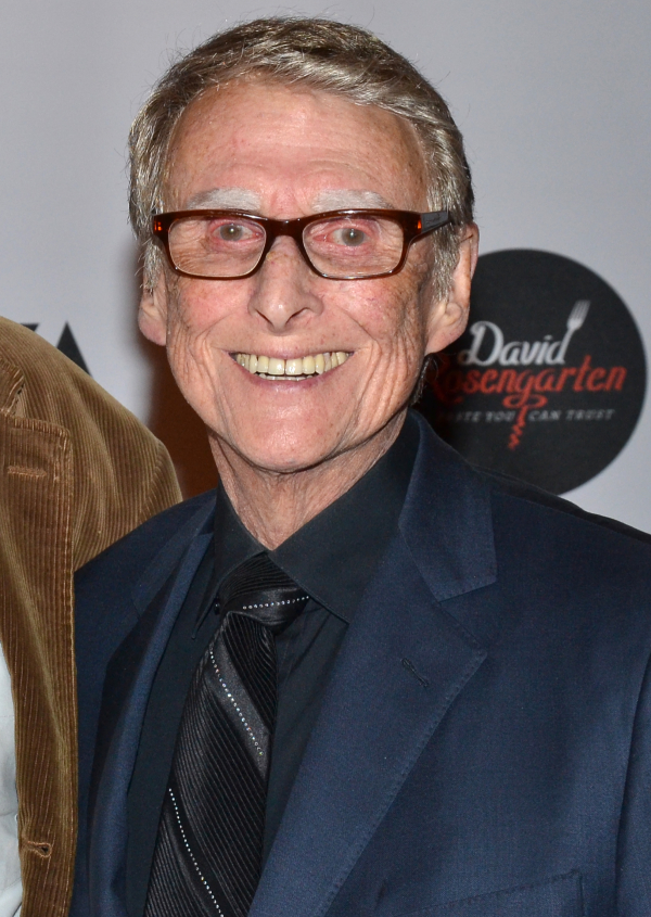 Mike Nichols, seen here at Roundabout Theatre Company's revival of The