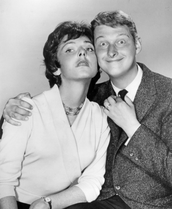 Elaine May and Mike Nichols circa 1960.