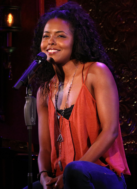 Bring It On star Adrienne Warren is one of the many performers who will take part in 54 Below Celebrates Frank Wildhorn.