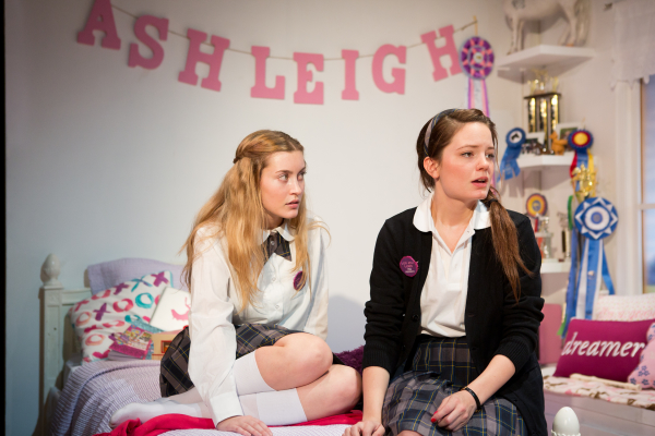 Olivia Macklin and Angeliea Stark star in Jenny Rachel Weiner's Horse Girls, directed by Sarah Krohn, at the cell.
