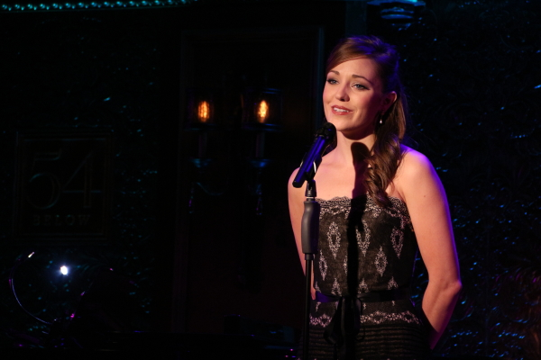Laura Osnes performs her new solo show, The Paths Not Taken, at 54 Below.