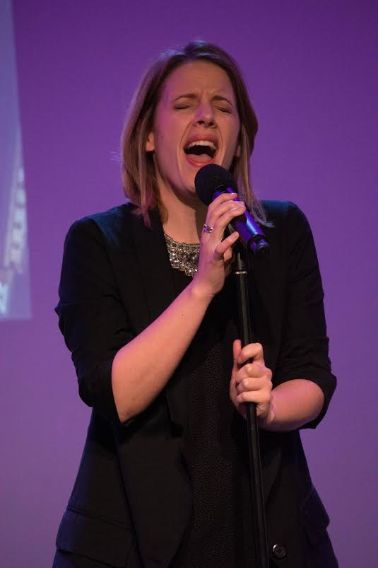 Jessie Mueller performs a tune from Beautiful.