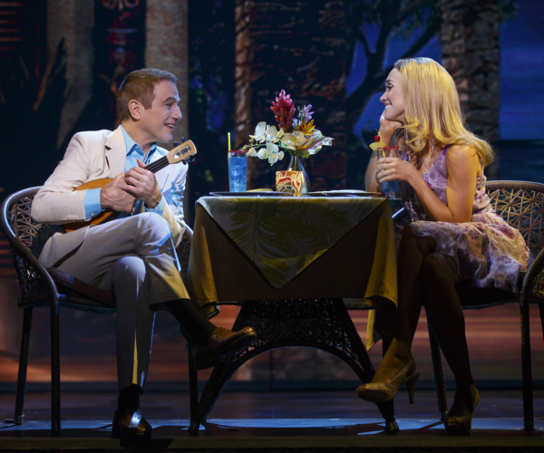 Tony  Danza and Brynn O'Malley lead the cast of Jason Robert Brown and Andrew Bergman's Honeymoon in Vegas at the Nederlander Theatre.