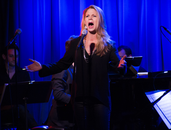 Five-time Tony Award nominee Kelli O'Hara performs at a recent concert with Jason Robert Brown at SubCulture.