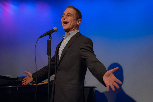 Tony Danza showed up to sing a few songs for the world's longest variety show.