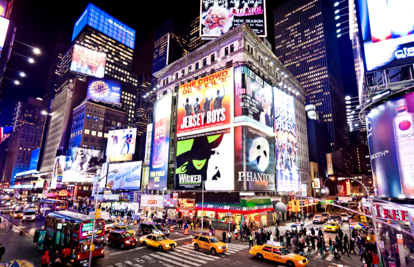Broadway celebrates a successful year of economic growth.