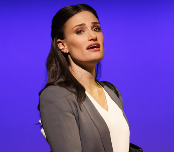 Idina Menzel stars in If/Then at the Richard Rodgers Theatre, which closes on March 22.