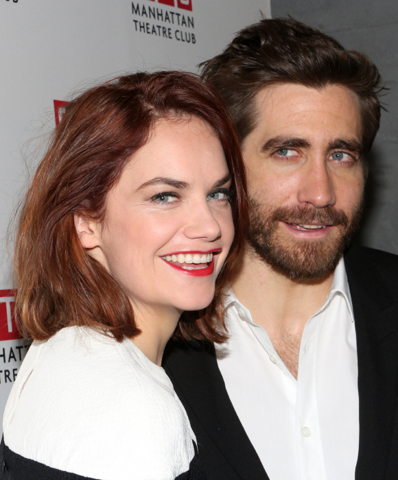 Ruth Wilson and Jake Gyllenhaal are overjoyed to have made their Broadway debuts in Constellations.